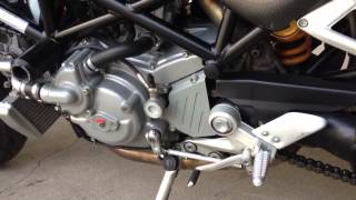 10. 2007 Ducati Monster S4Rs Engine Idle