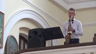 Tadas Šimaitis - You rase me up ( Westlife ) Saxophone cover