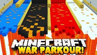 Minecraft - WAR PARKOUR! (Silly Parkour!) - w/Preston, Vikkstar123, Choco & Nooch!