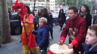 ¡Vídeo del Año Nuevo Chino!- Año del gallo (2017)