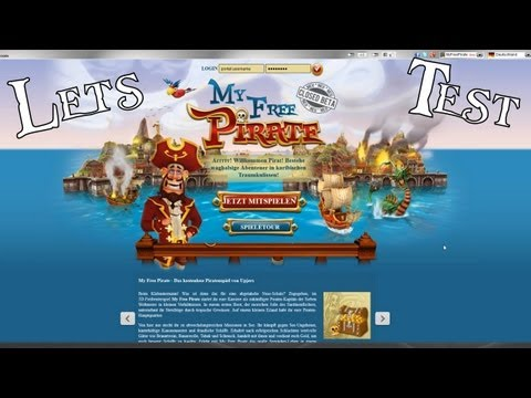 My Free Pirate: Let's Test My Free Pirate - Browsergame ...