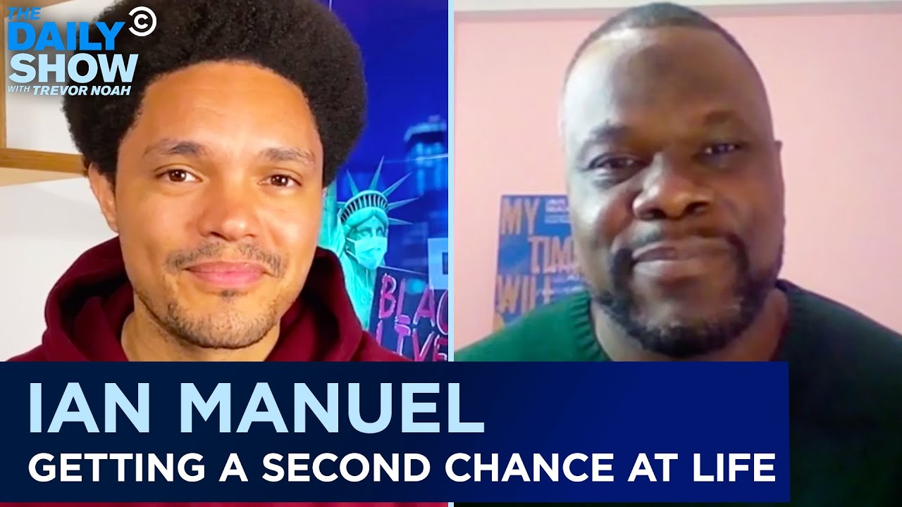 18 Years in Solitary Confinement & Befriending The Woman He Shot – Ian Manuel | The Daily Show