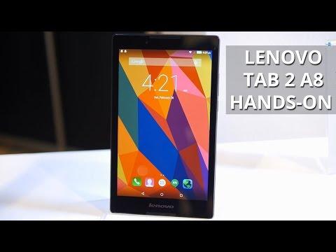 Lenovo TAB 2 A8 hands-on