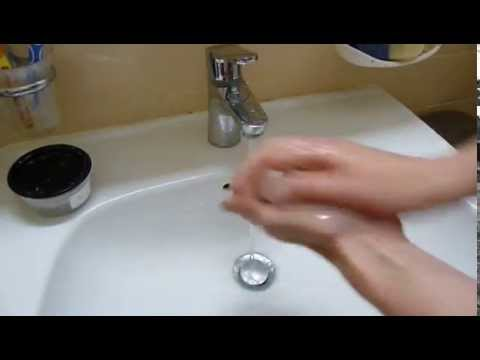 Shea butter soap - foaming test