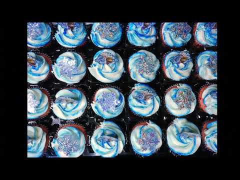 Frozen Cupcakes By #littlebakeryoc