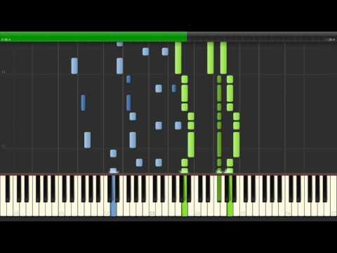 楽園まで 『Charlotte』 ED TV Size Piano 【Sheet Music/楽譜】 (видео)