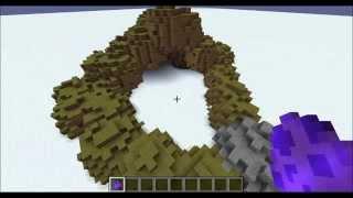 Rock and Terrain Generator in Minecraft