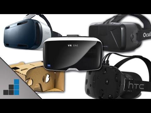 VR-Brillen - Alles über Oculus, Gear VR, Cardboard & Co. - Tech-up | deutsch / german