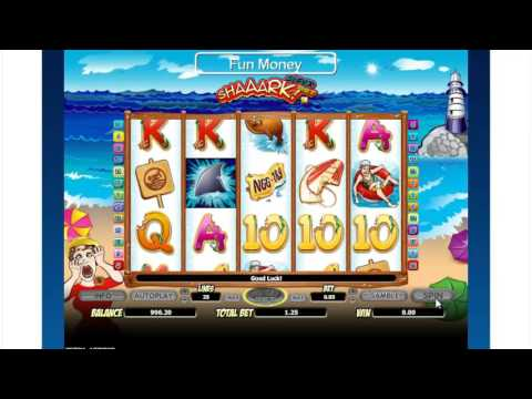 Play Free Slot machine Shaaark! Super bet Online