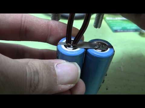 homemade battery tab spot welder