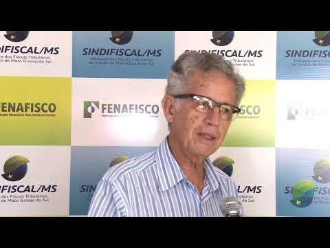 Depoimento Carlos Alberto Machado (Sindifiscal-MS 30 anos)