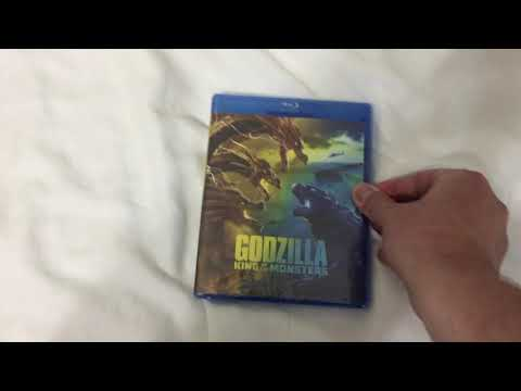 Unboxing Godzilla: King of the Monsters (2019) for Blu-Ray/DVD/Digital Code 9/7/19