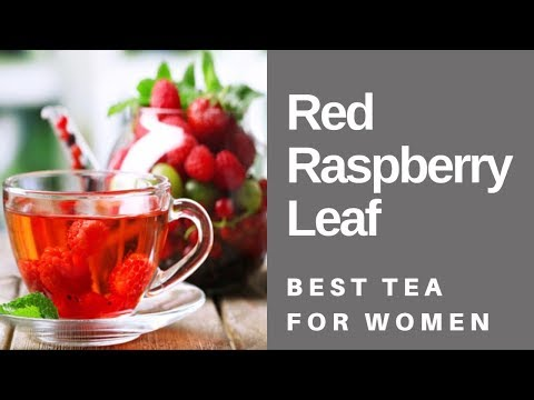 Herbal tea - HOW TO MAKE RED RASPBERRY LEAF TEA  THE BEST TEA FOR WOMEN