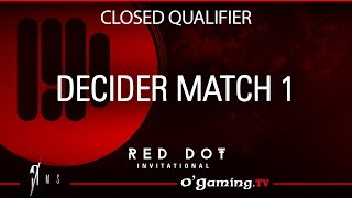 Decider match 1 - Red Dot Invitational - Closed qualifier - 23/11/15