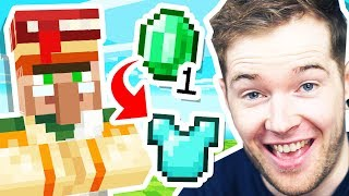 CHEAPEST VILLAGER TRADES in Minecraft Hardcore!