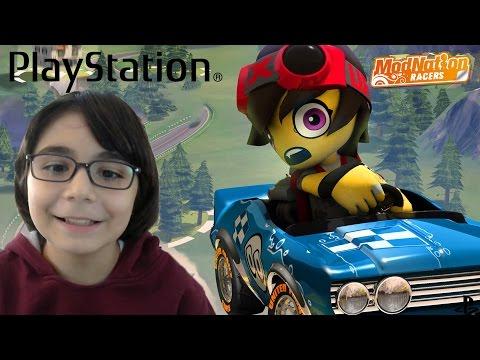 PlayStation Modnation Racers ps3 Babamla Oynadım - BKT