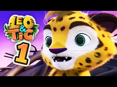 Leo and Tig - Episode 1 - Funny Family Good Animated Cartoon for Kids Movies 2017 - Moolt Kids Toons