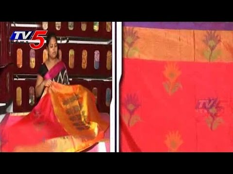 Snehitha | Paithani Pattu Sarees | PART 1 : TV5 News 25 July 2014 04 PM
