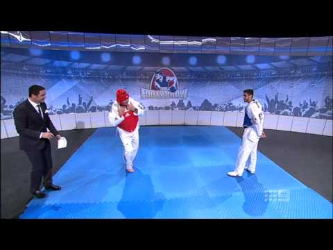The Footy Show - Disrespecting Taekwondo Backfires