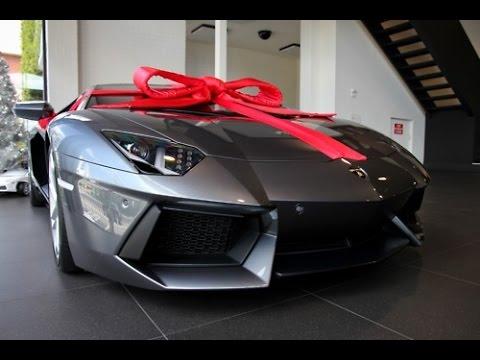 Lamborghini Aventador Birthday Present  photos