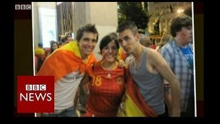 World Cup 2014: Spanish football fan heads to Brazil - BBC News