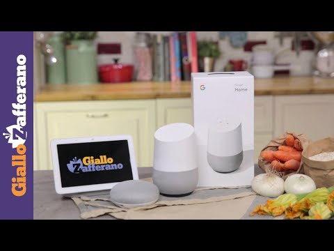 Cucina con l'Assistente Google видео