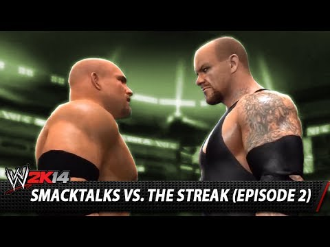 Smacktalks - After being unsuccessful with CM Punk, find out how I got on in my in my quest to end The Streak as Goldberg! ...Is The Undertaker next?