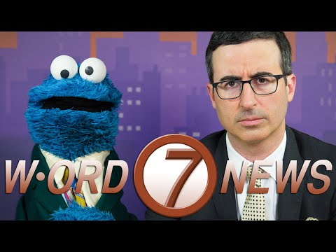 monster - Did you know John Oliver and Cookie Monster co-anchor a nightly news broadcast about words? Just kidding, that's not a thing. But you would TOTALLY watch that show. In support of