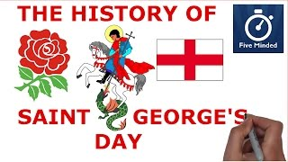 This is my animated narration on the history of Saint George's Day which is celebrated on 23rd of April every year.How will you celebrate Saint George's Day?How about reading this BOOK on George and the Dragon: http://amzn.to/2ntIILPThis video explains:When is St George's Day?How does England celebrate St George's Day?Who was St George?** CONNECT WITH ME **Facebook: https://www.facebook.com/5ivemindedTwitter: https://twitter.com/fivemindedPatreon: http://patreon.com/fivemindedWhiteboard Software I use to make my Videos: http://www.sparkol.com?aid=983244Thanks for watching, Please LIKE and SUBSCRIBE if you like my videos.THANKS!!