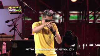 Pattaya International Music Festival 2013  Buddha Bless