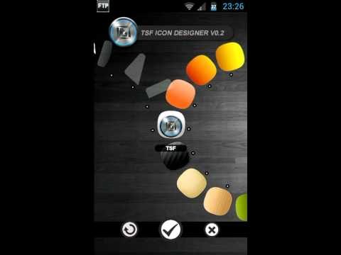 Video of TSF Shell Theme meego HD