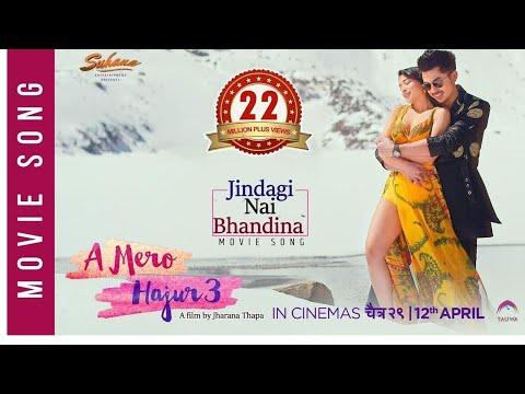Jindagi Nai Bhandina | A Mero Hajur 3 | New Nepali Movie Song 2019 | Anmol KC, Suhana Thapa