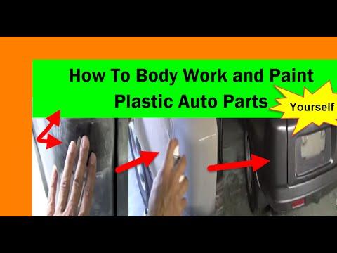 how to paint plastic car parts automotive spray paint. Black Bedroom Furniture Sets. Home Design Ideas