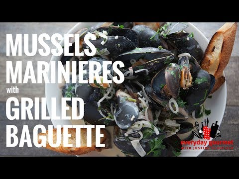 Mussels Marinieres with Grilled Baguette – Tefal | Everyday Gourmet S6 E88