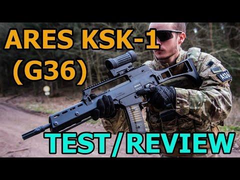 ARES KSK-1 G36 Airsoft / Softair Test & Review - GSPAirsoft german / deutsch