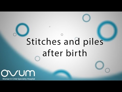 how to care for episiotomy stitches