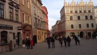 Lublin Poland  city images : Lublin POLAND Old Town Tour (HJRR)