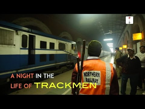 Walking The Line: A Night In The Life Of Trackmen