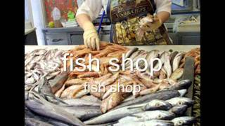Places and Shops vocabulary, Videos for beginners