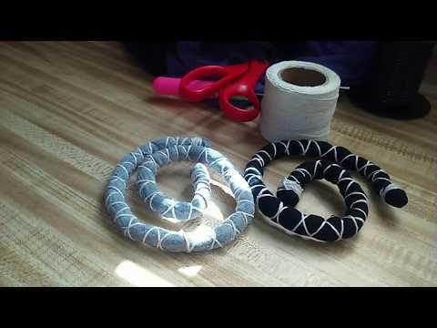 DIY Spiralock Tutorial: How to make your Own Spiralock Inspired Bendable Dread Tie
