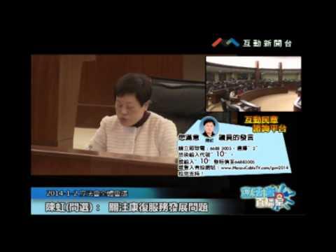 陳虹20140102立法會議