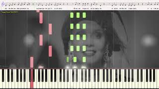Вишнёвые розы - Кобзон �осиф (Ноты и Видеоурок для фортепиано) (piano cover)