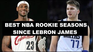 Video Ranking The 10 Best NBA Rookie Seasons Since LeBron James MP3, 3GP, MP4, WEBM, AVI, FLV April 2019