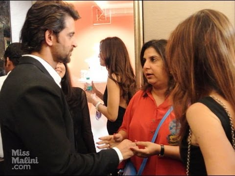 hrithik - Last night there was a lot of love in the room for Farah Khan Ali as she launched her dream Flagship Store on Turner Road, Bandra and celebrated two decades ...