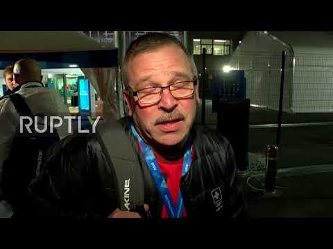 South Korea: Russian athletes, Swiss coach comment on doping allegations