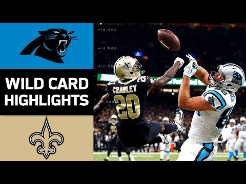 Panthers vs. Saints | NFL Wild Card Game Highlights (видео)