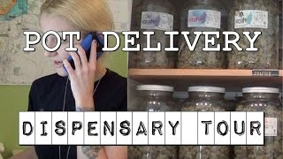 Pot Delivery DISPENSARY TOUR | CRAFT Cannabis | CoralReefer by Coral Reefer