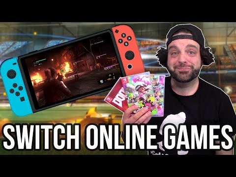 BEST Nintendo Switch ONLINE Multiplayer Games! | RGT 85
