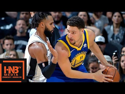 Golden State Warriors vs San Antonio Spurs Full Game Highlights / Game 3 / 2018 NBA Playoffs (видео)