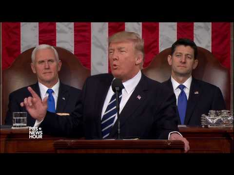 Trump pledges to 'keep our promises to the American people'